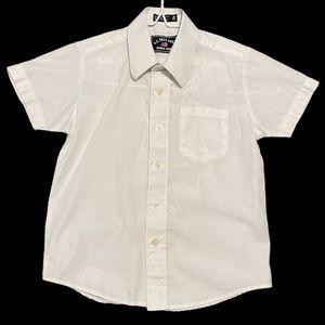 US Polo Assn white button up dress shirt 4